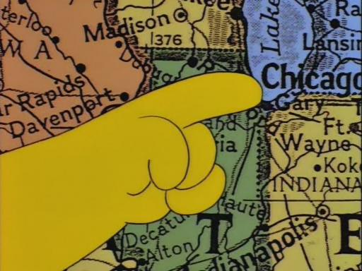 Simpsons Rand Mcnally >> The Simpsons-O-Rama | We deal Simpsons. Big time.